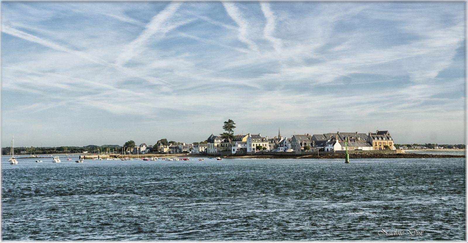 Ile Tudy vue de Loctudy - Finistère