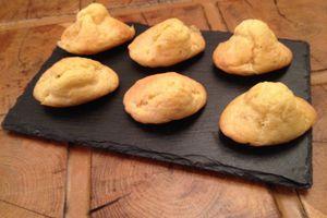 Madeleines au fromage de Langres