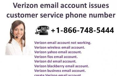 Dial +1-866-748-5444 to fix Verizon Email Not Working
