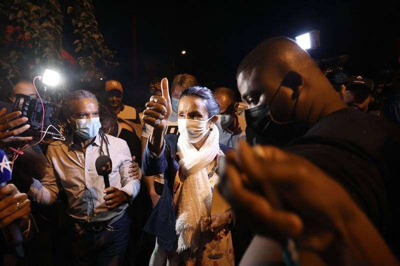 Huguette Bello enlève la Région à la droite. (R.Bouhet, AFP)