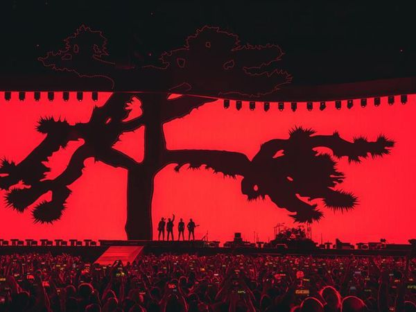 U2 -Santiago -Chili 14/10/2017 -Estadio Nacional