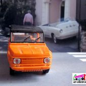 FASCICULE N°43 CITROEN MEHARI 1979 SOLIDO 1/43. - car-collector.net