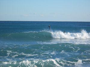 Un peu de surf pour Lio