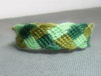 Tutoriel et patron: bracelet brésilien en forme de tresse