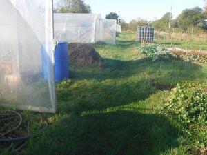 La micro-ferme de Benoît se niche sur 5000 m2 de terrain