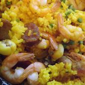 Paella cuite au four... super facile! -