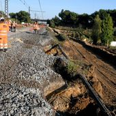 Intempéries et gros travaux : la SNCF promet un retour à la normale le 2 décembre