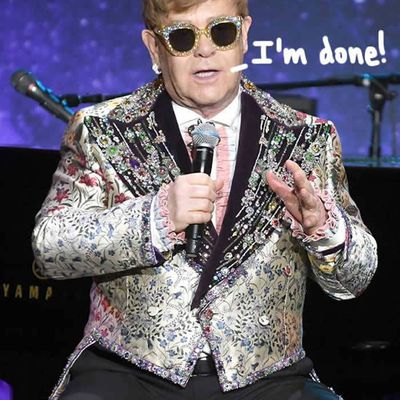 Elton John STORMS OFF Stage After Fans Get Too Handsy! WATCH HERE!