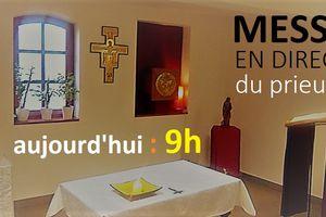 Ce jeudi 19 mars : Solennité de Saint Joseph