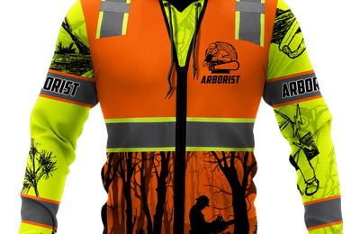 Arborist Safety 3D Hoodie