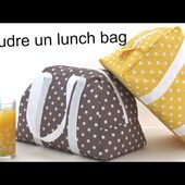Coudre le lunch bag Elsa - sac isotherme
