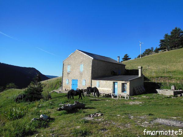 La Tour de Borne, Gite-Refuge d'alpage dans le Haut-Diois.
