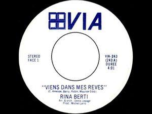 Rina Berti, une chanteuse québécoise aux multiples pseudos et qui se spécialisait dans les parodies