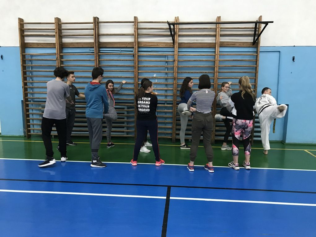 SMRO19 HEALTH - Fitness class