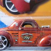CUSTOM 41 WILLYS COUPE HOT WHEELS 1/64 - FORD COUPE 1941 - car-collector.net