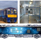 Un nouveau service petits colis par rail en Grande-Bretagne
