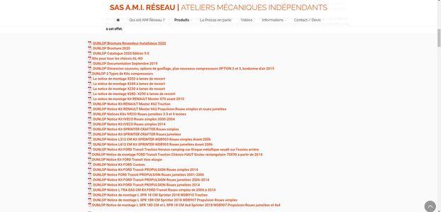 Nos PDF sont régulièrement mis à jour sur notre site Web www.amireseau.fr