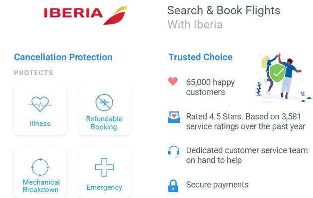 Iberia Airlines Reservations   Flights Booking