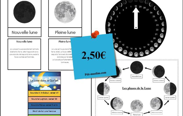 Cycle de la Lune