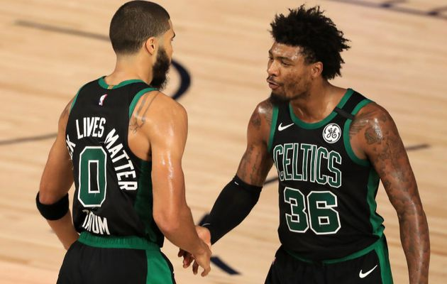 Les Celtics font le break en battant les Raptors (2-0)