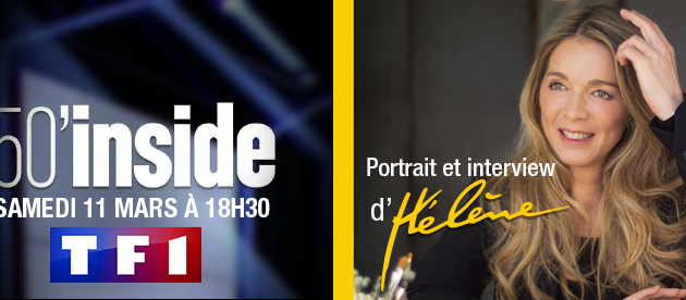 Hélène Rollès dans 50 minutes Inside, replay du samedi 11 mars
