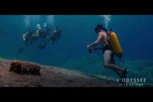 """Dans les pas du Commandant Jean-Yves Cousteau/ Film """"L'Odyssée"""" au Festival de Cannes 2016 (avec Lambert Wilson) - """"Un combat pour la mer"""" !"""