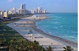 Imágenes playas de Miami.- El Muni.