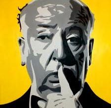 ALFRED HITCHCOCK IN THE BACKSTAGE