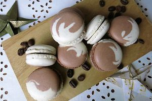 Macarons Café Latte