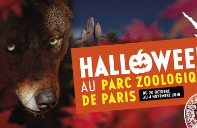 Halloween au parc zoologique de Paris