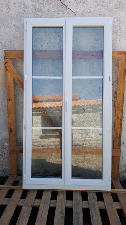 Maison : dépose fenêtres chambres étage