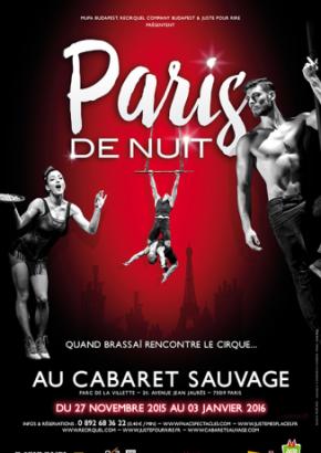 """""""Paris de nuit"""" au Cabaret Sauvage"""