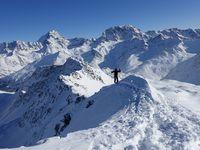 Ski de rando - Monts Telliers 2951 m