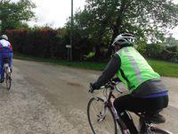 Le trio a emprunté par tronçons des véloroutes. Au final, 61 kilomètres aux compteurs.