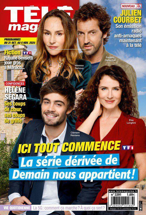 La une des nouveaux numéros de 11 revues TV : Elsa Lunghini, Clément Rémiens, Fabienne Carat…