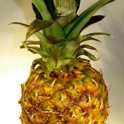 Soupe de mûres à l'ananas