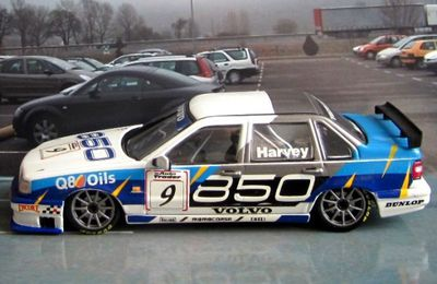 VOLVO 850 SALOON GRAND TOURING BTCC 1995 T.HARVEY 1/43 MINICHAMPS