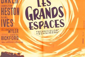 LES GRANDS ESPACES (The big country)