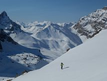 Brec de Chambeyron - couloirs nord