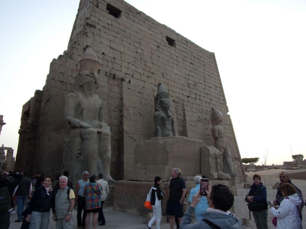 Croisière sur le Nil ...... Première journée, découverte des temples de Karnak et de Louxor.