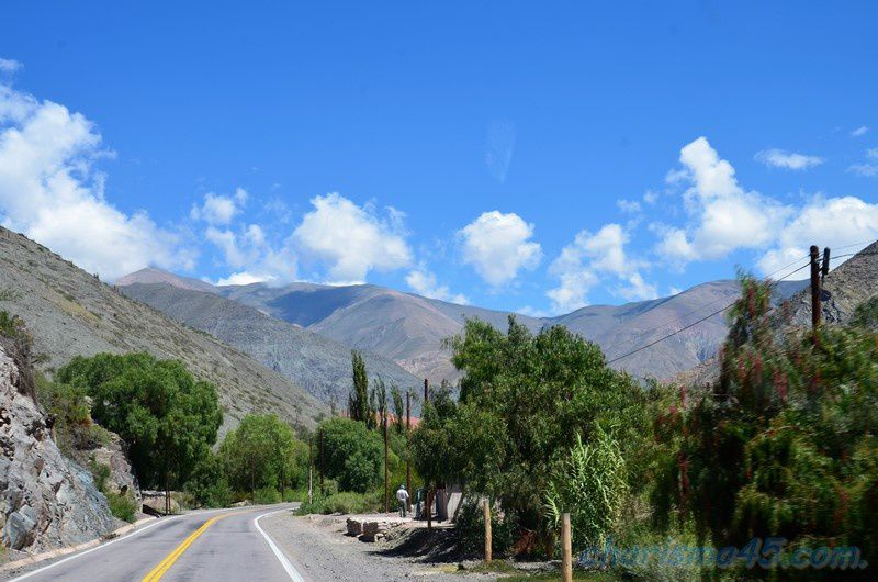 Route 52, Argentine en camping-car