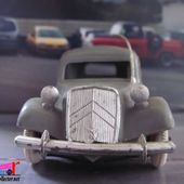 CITROEN TRACTION 15 SIX FAMILIALE 1954 PEINTURE GRISE NOREV 1/43 - car-collector.net