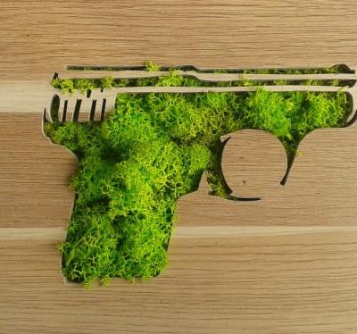 """""""Handgun"""" : Alexandrine Pinardelle by Mister Ride"""