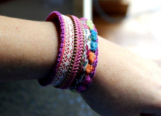 DIY / tuto Bracelet du moment