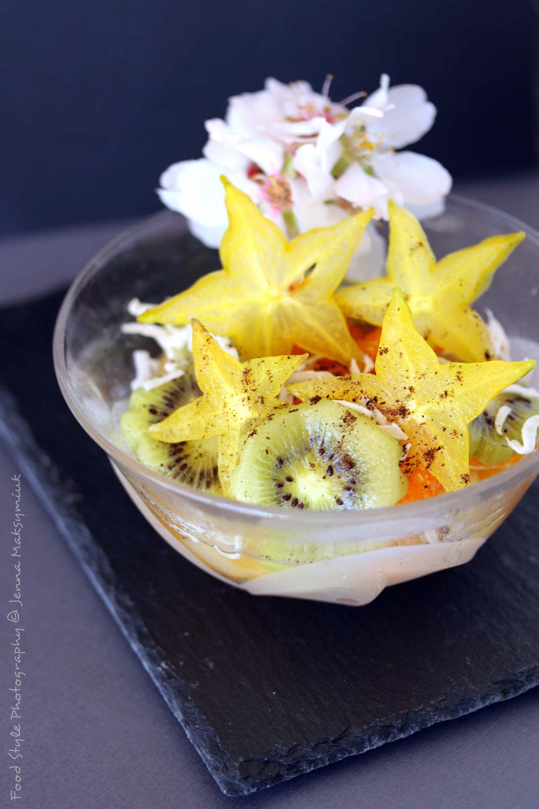Salade de fruits Flower-Power