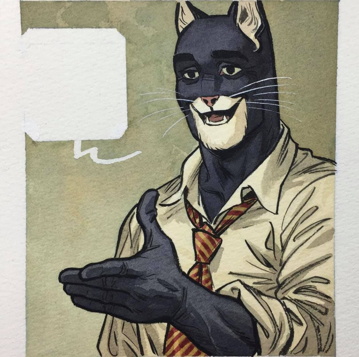 Is he handsome or what ?   by Juanjo Guarnido, Tome 6 Blacksad