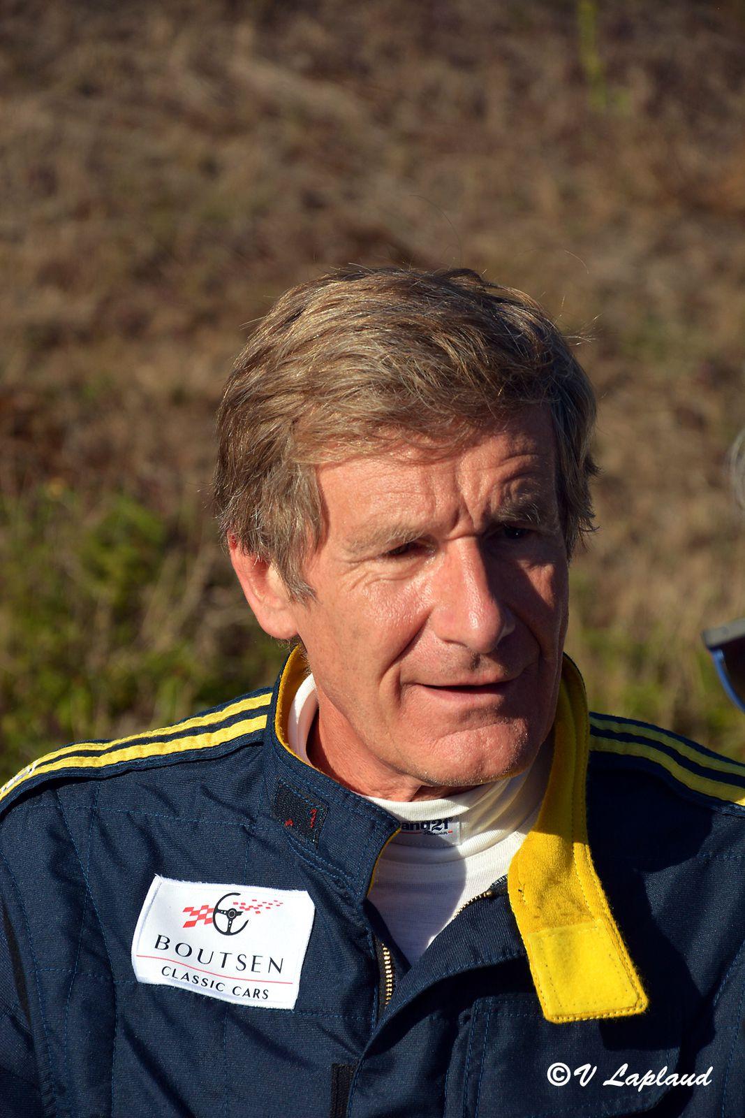 Thierry Boutsen, Limoges, Tour Auto 2020.