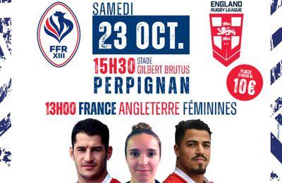 France / Angleterre (Rugby XIII) Sur quelles chaînes suivre les Test Matchs samedi ?