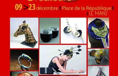 Salon des Artisans Créateurs au Mans du 17 au 23 décembre 2017
