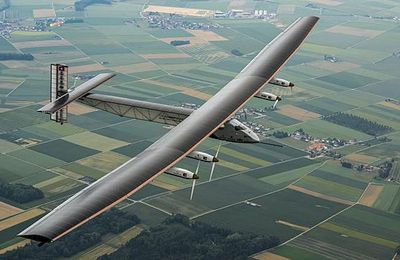 Solar Impulse Attempts to 'Achieve the Impossible' by Flying Around the World Using Only Solar Energy